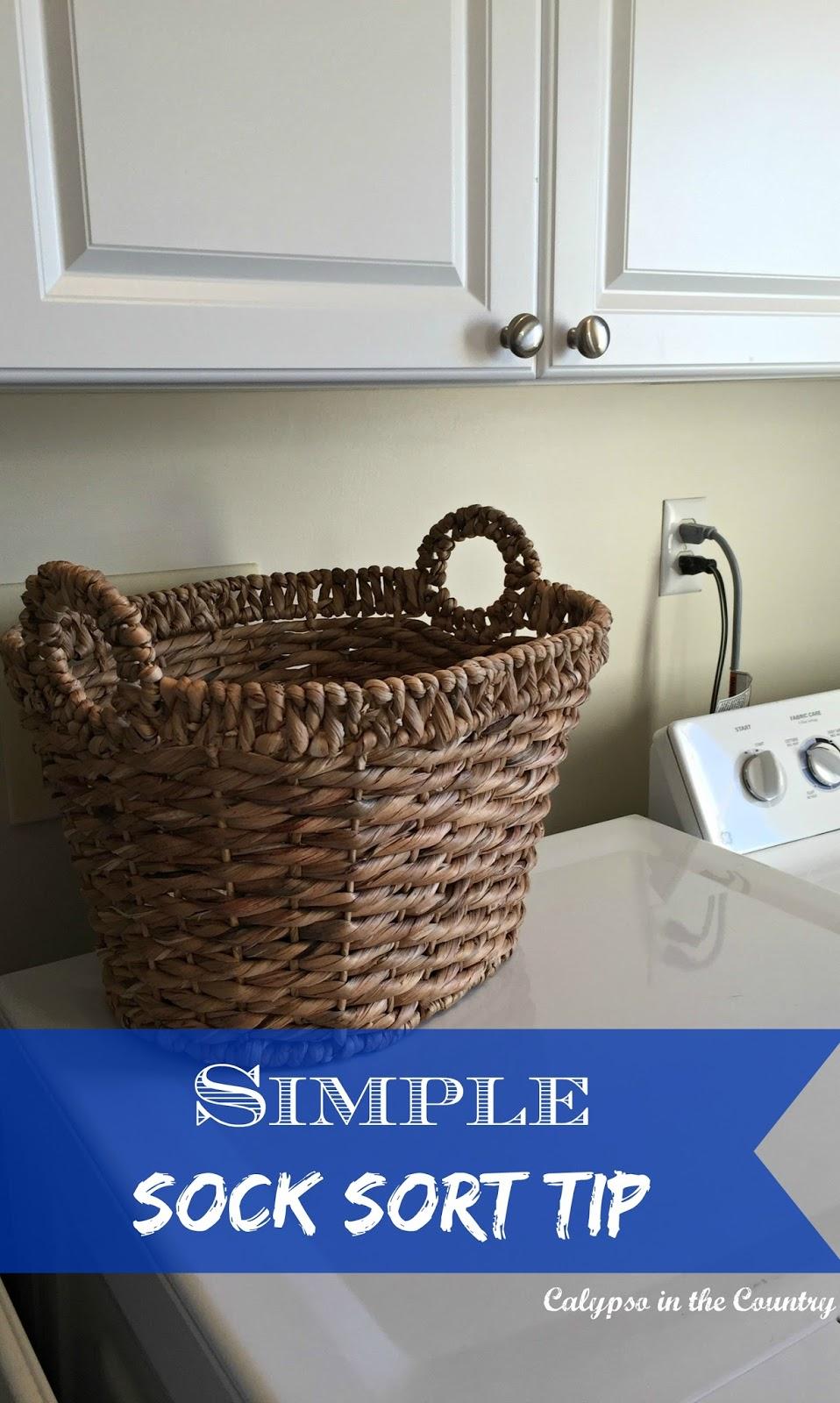 Simple Sock Sorting Tip