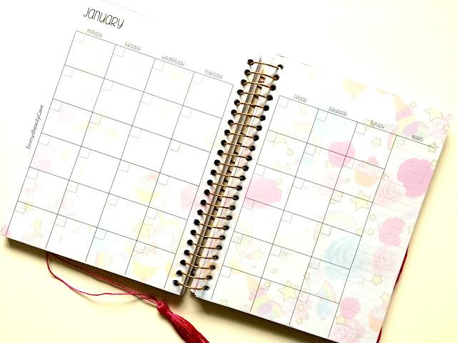 RIDE A UNICORN PLANNER