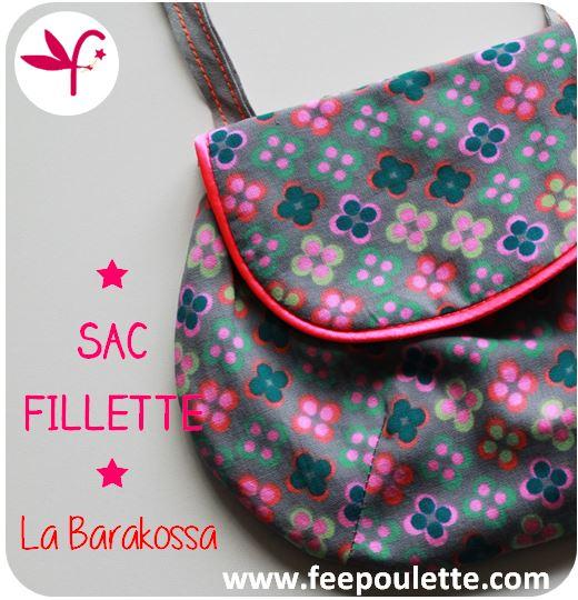Sac filles La Barakossa - Tuto gratuit - Version Fée Poulette