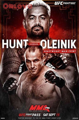 UFC Fight Night Hunt Vs. Oleinik 2018 Custom HD Latino 5.1