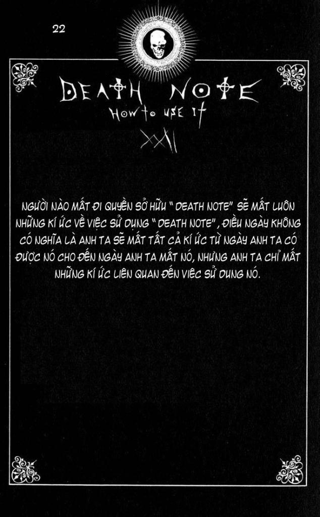 Death Note chapter 110 - how to use trang 25