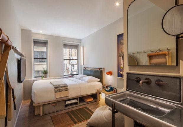 Hoteles en Nueva York céntricos moxy nyc times square
