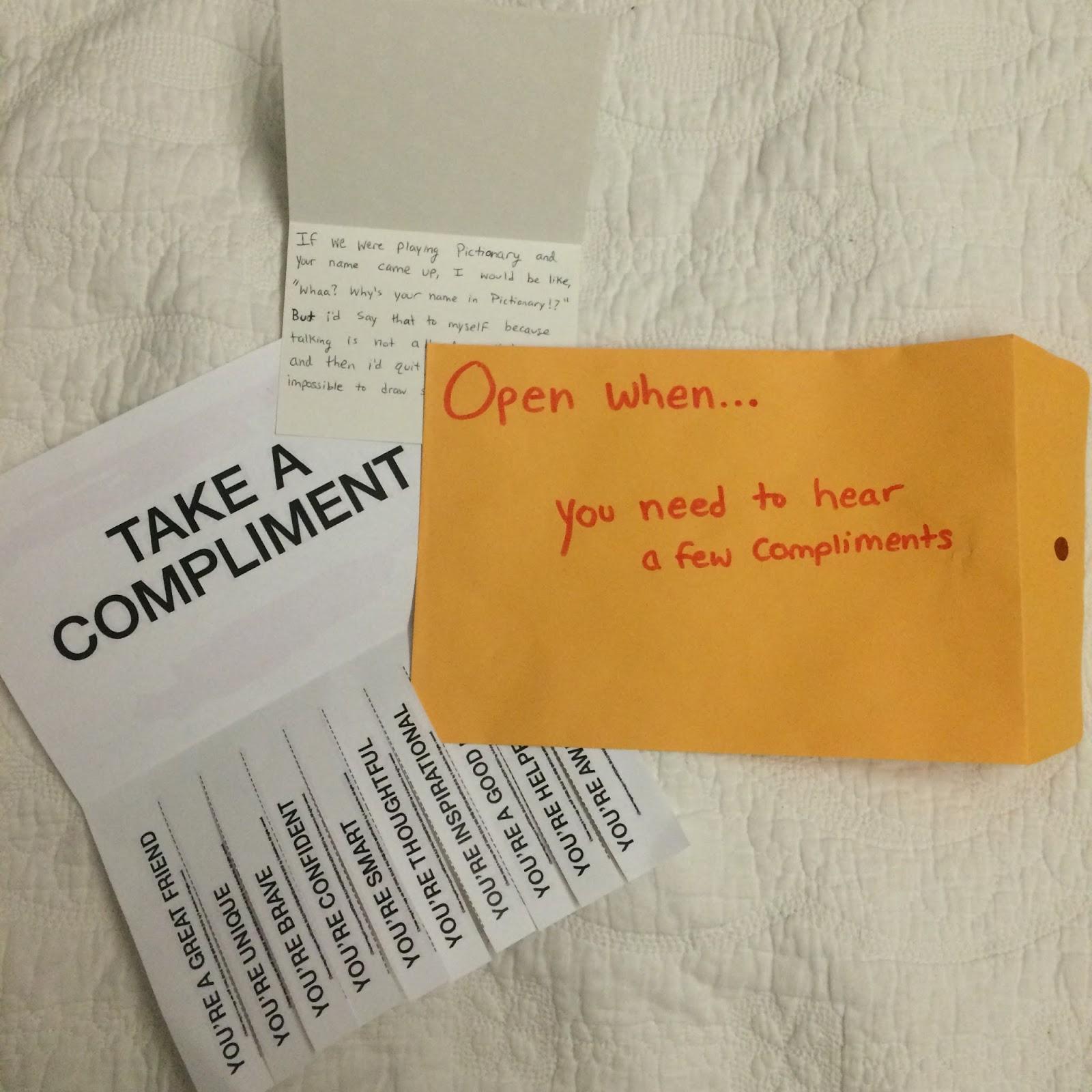 Open When Envelopes For Your Best Friend: Live, Laugh, Love Makeup!: DIY: Open When... Envelopes