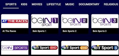 تطبيق FreeFlix TV, مشاهدة باقة bein sport, FreeFlix TV مشاهدة بين سبورت بالمجان
