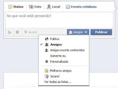 Status do Facebook
