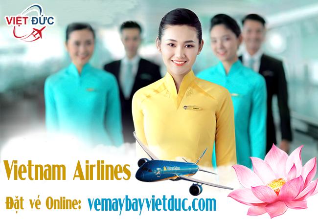 Bán vé máy bay hãng Vietnam Airlines chính hãng