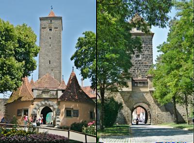 O que fazer em Rothemburg, Rota Romantica