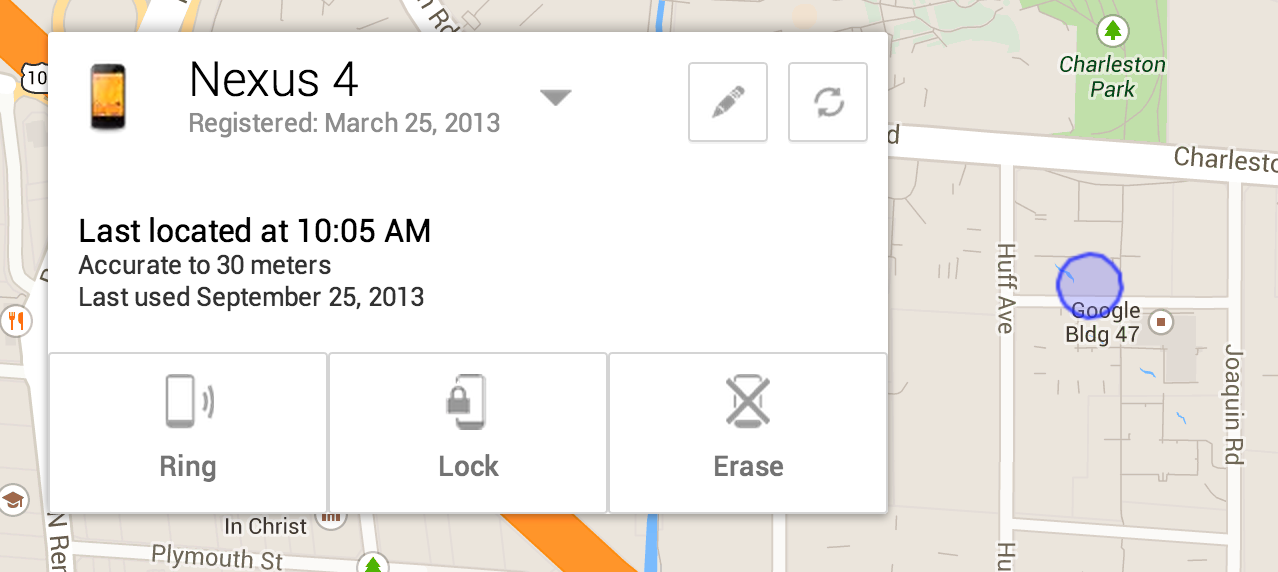 Official Android Blog Find Your Lost Phone With Android Device Manager