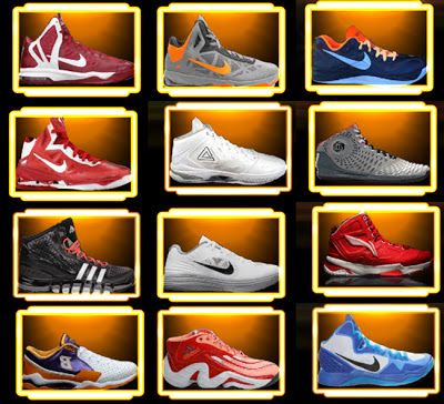 NBA 2K13 Shoes Mod Pack