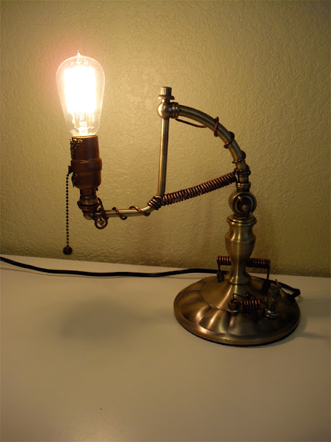 My Things By My Hands Steampunk Lamps
