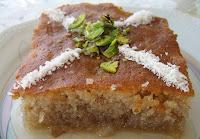 Şerbetli tatlıların başında gelen Cevizli Revani tarifi ve yapılışı