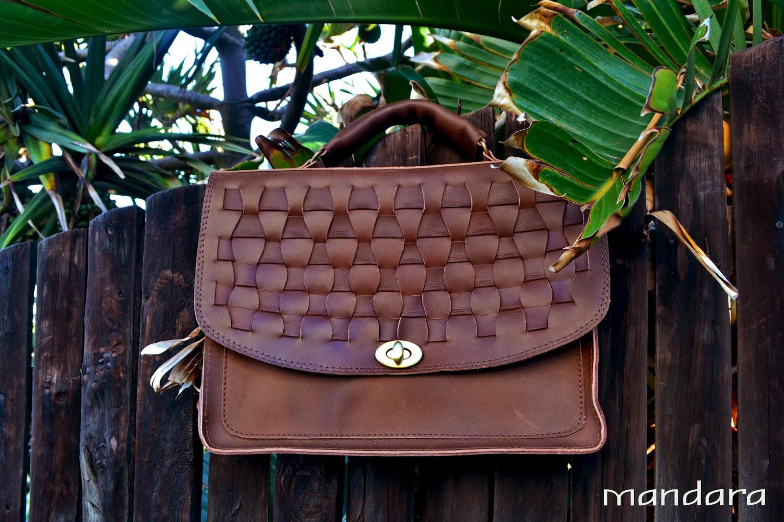 a297b9fddf15 Handmade leather briefcase