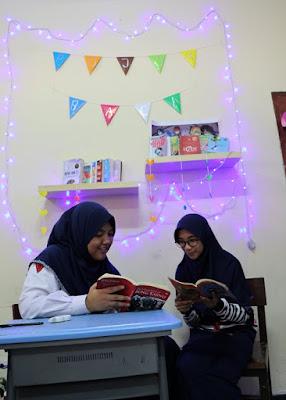 Inilah Strategi SMPN I Balikpapan Agar Orang Tua Sukarela Sumbangkan Buku