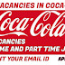 JOB VACANCIES IN COCA-COLA