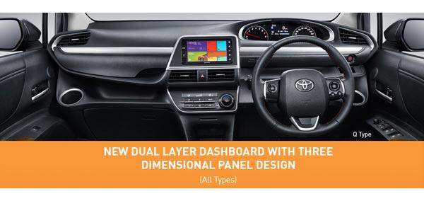 Interior All New Toyota Sienta