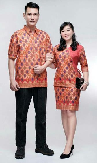 Model Baju Batik Couple Untuk Acara Wisuda