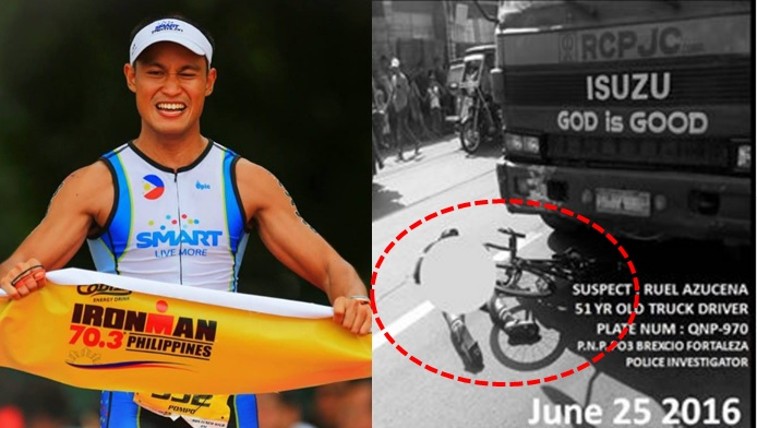 "Mark ""Pompo"" Arroyo's life was cut short after a truck hit him while he was riding his bike in Antipolo, Rizal"