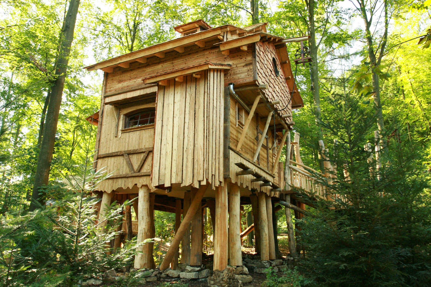 Simple Treehouse: The Excellent Cool Kids Tree Houses Wallpapers