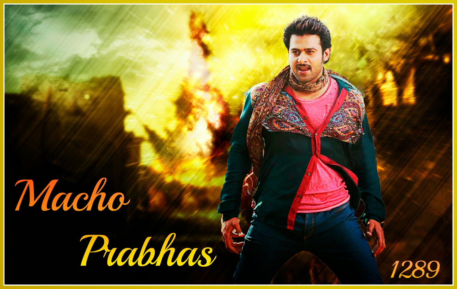 Stylish Prabhas Hq Wallpaper In Rebel: Prabhas 2 PrabhasFans: Prabhas Wallpapers (Set-2