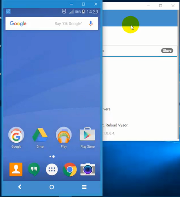 إظهار شاشة هاتفك الأندرويد على الكمبيوتر من دون أي برنامج ومن دون روت