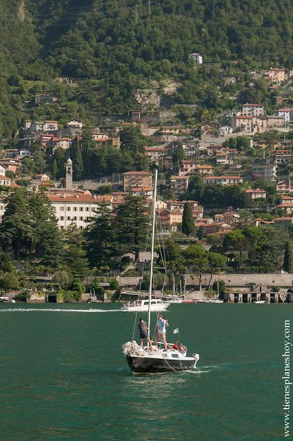 Recorrer lago di como Italia viaje
