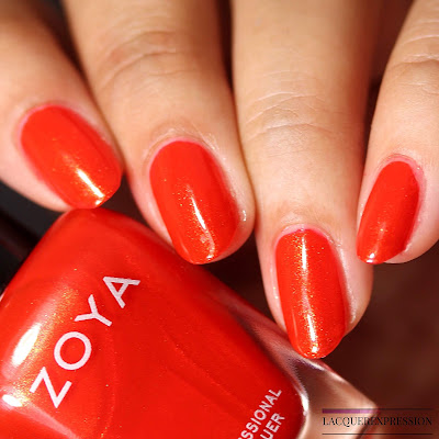 Nail polish swatch of Zoya Marigold from the Summer 2018 Sunshine Collection
