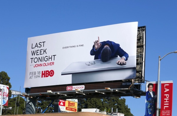 Last Week Tonight John Oliver season 5 billboard