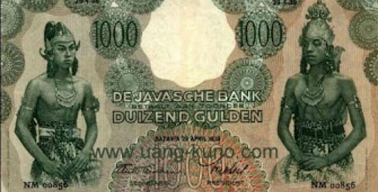 Uang kertas 1000 Gulden (Uang-kuno)