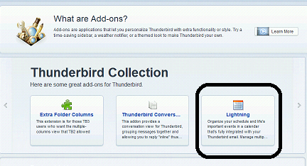how to add icloud calendar to thunderbird