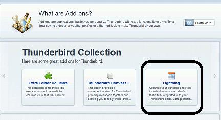 how to add icloud calendar to thunderbird