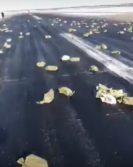 The-runway-in-Russia-where-gold-bars-had-fallen-from-a-cargo-plane.