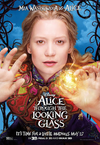Alice Through The Looking Glass (BRRip 3D 1080p Dual Latino / Ingles) (2016)