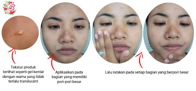 cara memperkecil pori-pori besar