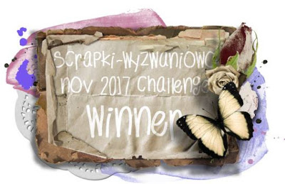 I'm a winner at Scrapki-Wyzwaniowo!
