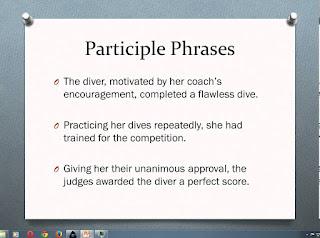 Pengertian dan Contoh Kalimat Participial Phrase