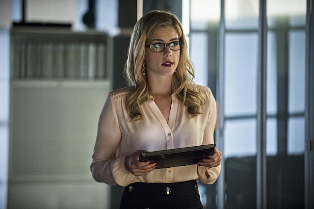 Arrow Felicity e Sereia Negra 7 Temporada
