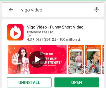 Vigo video apps
