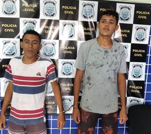 Policia Civil prende mais dois acusados de latrocínio contra vigia do Crás em Parnaíba