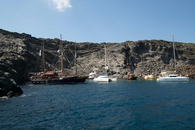 Crociera in catamarano a Santorini-Hot springs