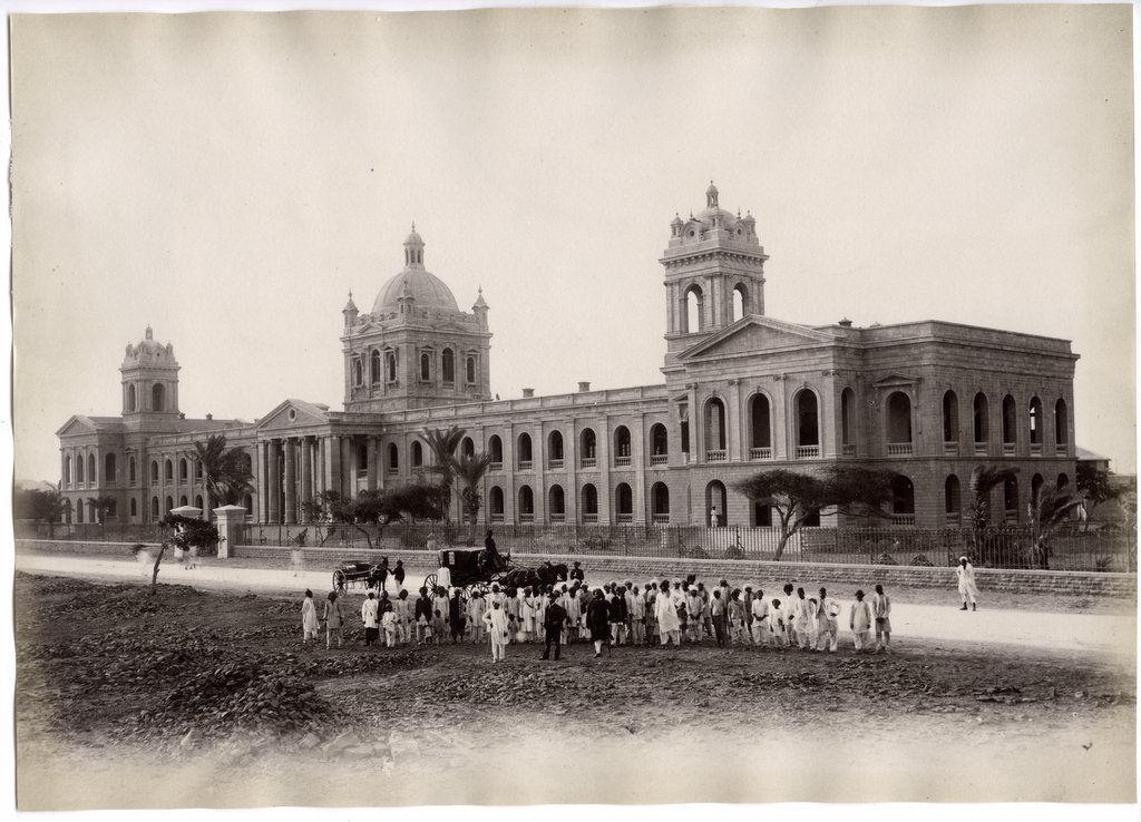 Holkar College - Karachi Circa 1890's