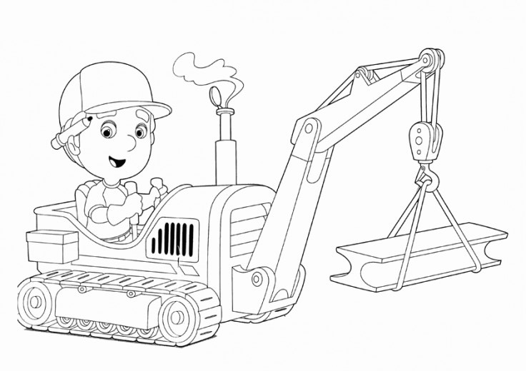 Fun Coloring Pages Handy Manny Coloring Pages - Handy-manny-coloring-page