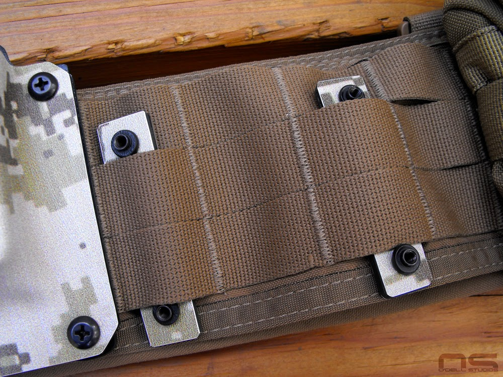 molle mounted kydex
