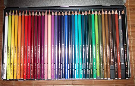 Que hago esta semana los l pices de color clases y marcas for Mejor pintura interior calidad precio