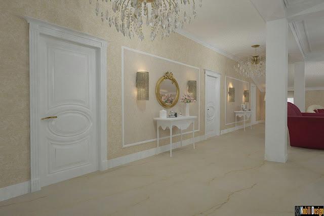 Nobili Design | Amenajari interioare living si dormitor clasic | Firma amenajari interioare in Bucuresti.