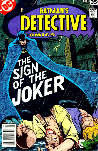 Detective Comics v1 #476 dc comic book cover art by Marshall Rogers