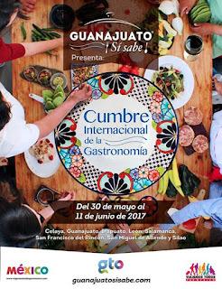 cumbre internacional de gastronomía guanajuato 2017