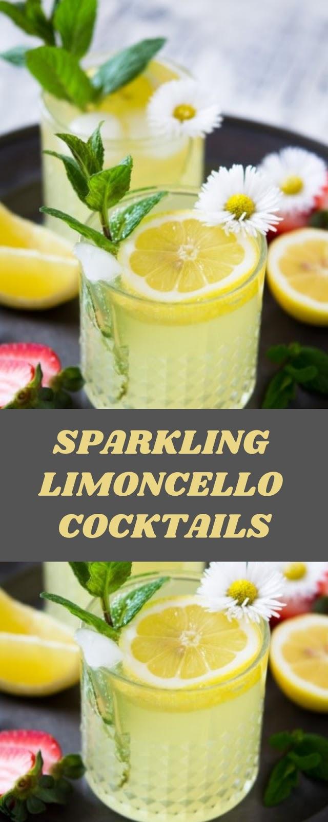 SPARKLING LIMONCELLO COCKTAILS