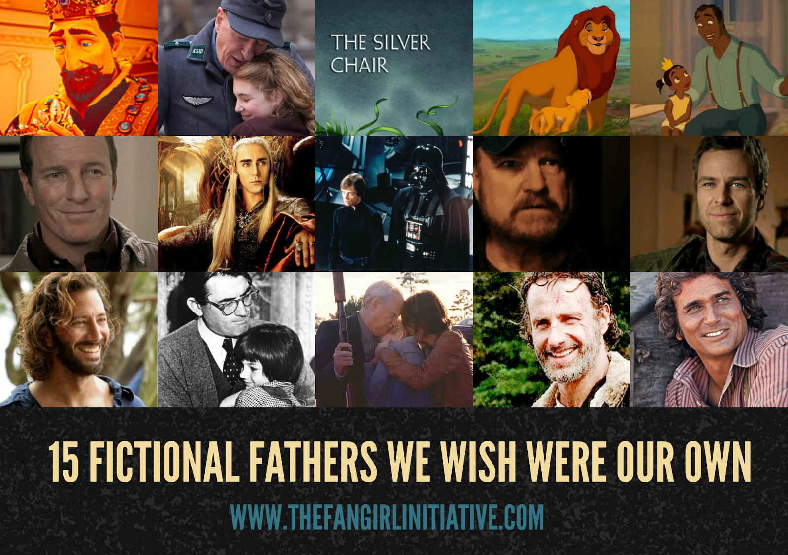 The Silver Chair Movie 2015 Bertoia Wire 15 Fictional Fathers We Wish Were Our Own Fangirl Initiative Father S Day Was Yesterday And Just Like Mothers There Are So Many Good Or Fatherly Figures In Fiction Wanted To Honor A Few Of