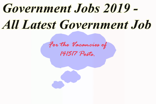 Government Jobs 2019.
