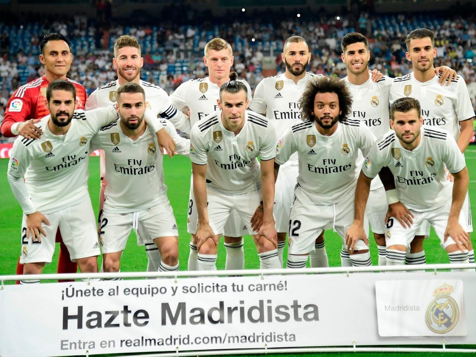 مباراة ريال مدريد ورايو فاليكانو 15-12-2018 الدوري الاسباني